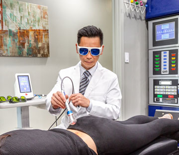 San Francisco CA, Deep Tissue Laser Therapy